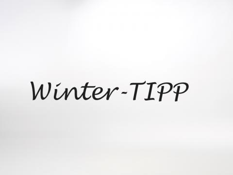 Winter Tipp Ferienwohnung Auszeit